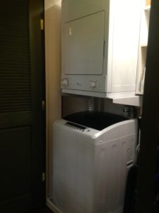 Washer & Dryer for guest use at 30 Timber Road B&B Mechanicsburg, PA